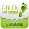 Green Intercom by Commend